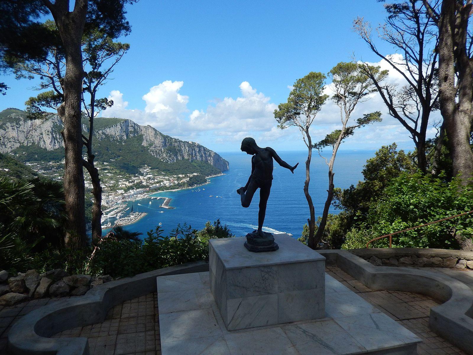 Capri, riapre al pubblico Villa Lysis